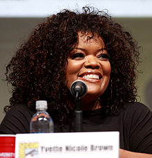 Learn more about Yvette Nicole Brown